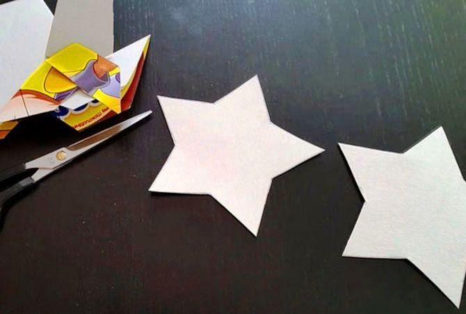 Звезда на елку своими руками: 5 творческих идей 4
