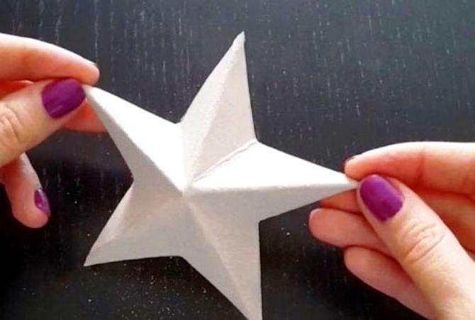Звезда на елку своими руками: 5 творческих идей 5