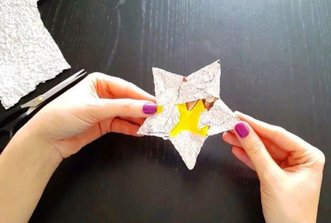 Звезда на елку своими руками: 5 творческих идей 7