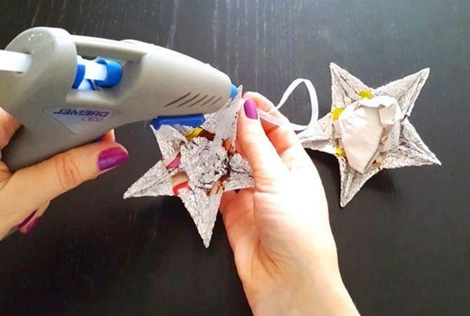 Звезда на елку своими руками: 5 творческих идей 8