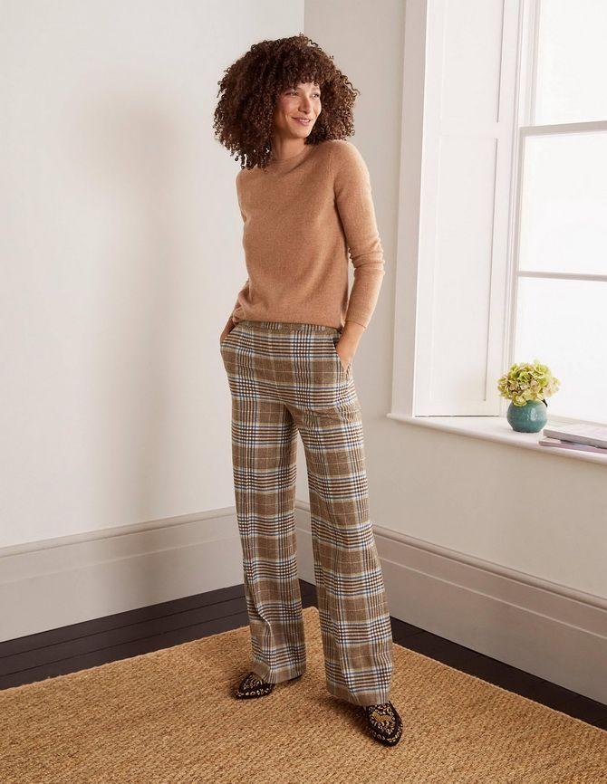 Шерстяные брюки — модный лук зимнего сезона 3