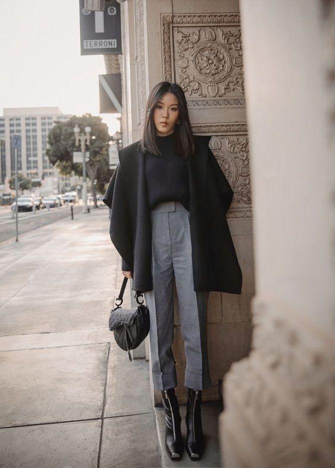 Шерстяные брюки — модный лук зимнего сезона 1