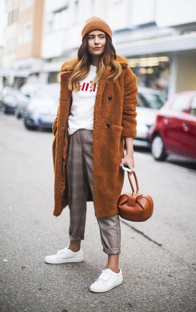 Шерстяные брюки — модный лук зимнего сезона 15