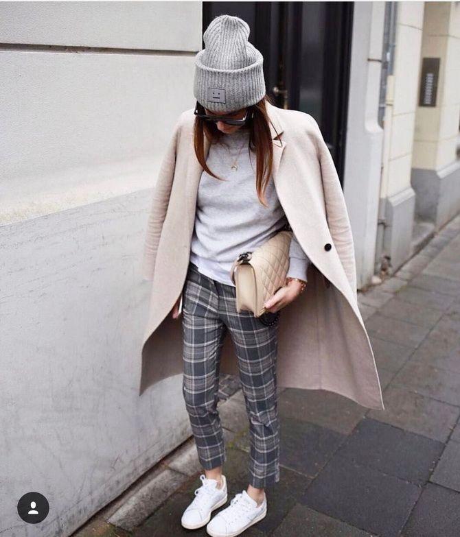 Шерстяные брюки — модный лук зимнего сезона 13