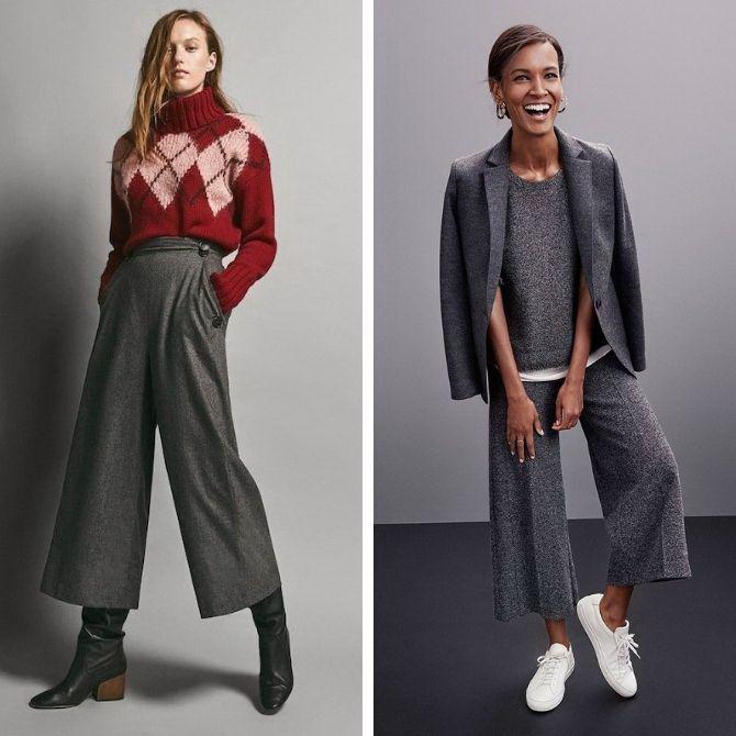 Шерстяные брюки — модный лук зимнего сезона 4