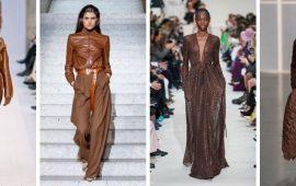 Шоколадные оттенки в моде: как их носить зимой?