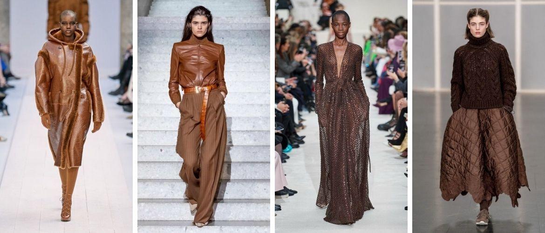 Шоколадні відтінки в моді: як їх носити взимку?