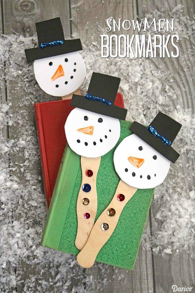 Как сделать снеговика из ватных дисков – лучшие новогодние поделки 24