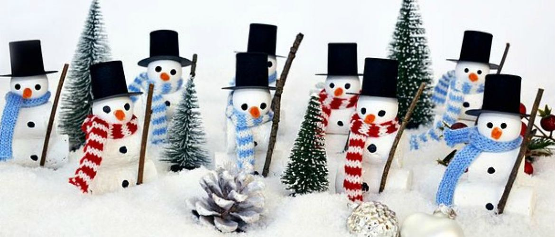 Новогоднее волшебство своими руками: 50 идей снеговика