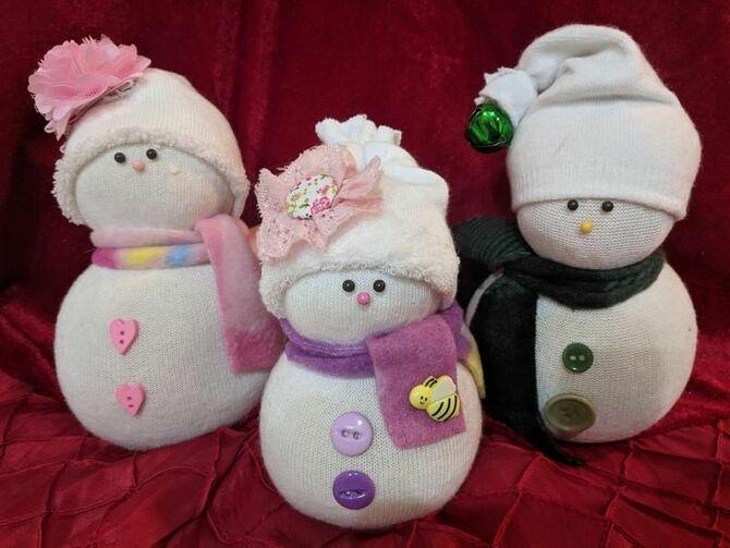 Новогоднее волшебство своими руками: 50 идей снеговика 12