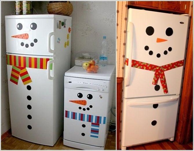 Новогоднее волшебство своими руками: 50 идей снеговика 19