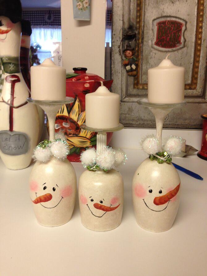Новогоднее волшебство своими руками: 50 идей снеговика 22