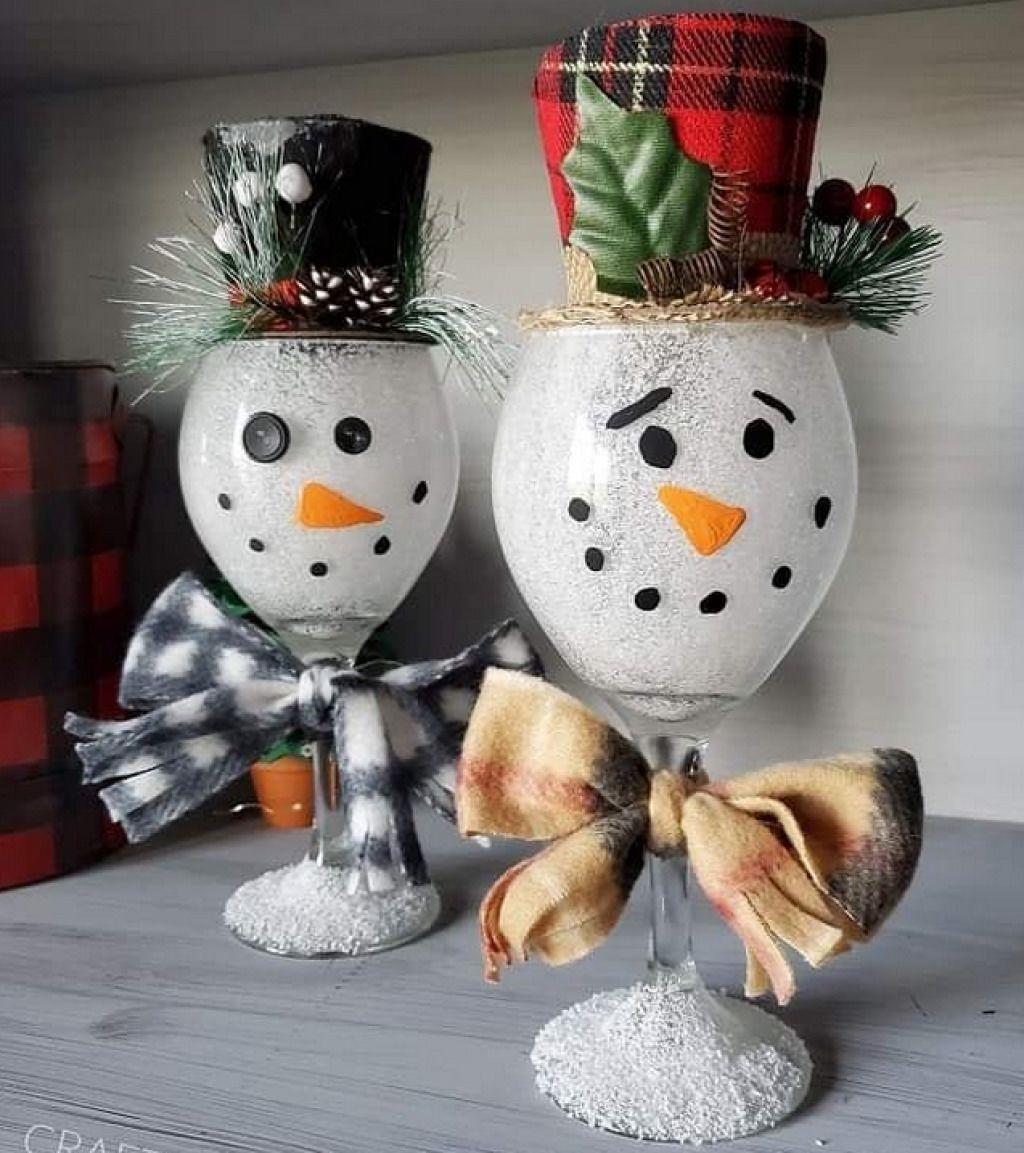 Новогоднее волшебство своими руками: 50 идей снеговика 25