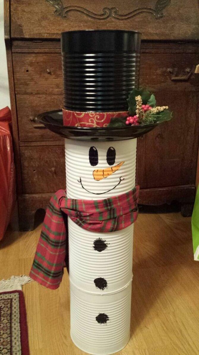 Новогоднее волшебство своими руками: 50 идей снеговика 29