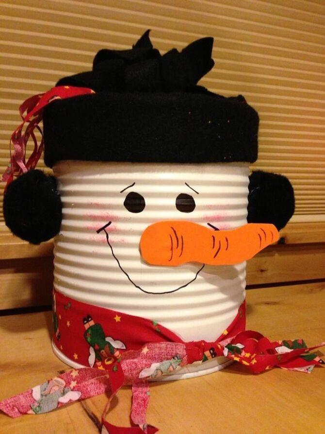 Новогоднее волшебство своими руками: 50 идей снеговика 31