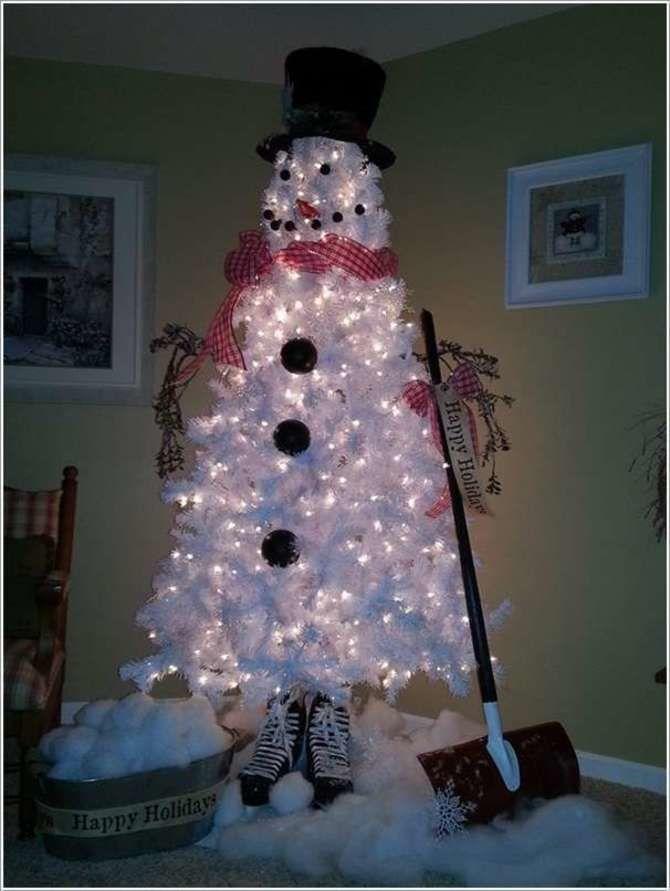 Новогоднее волшебство своими руками: 50 идей снеговика 42