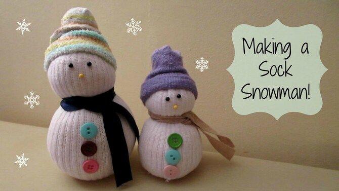 Новогоднее волшебство своими руками: 50 идей снеговика 5
