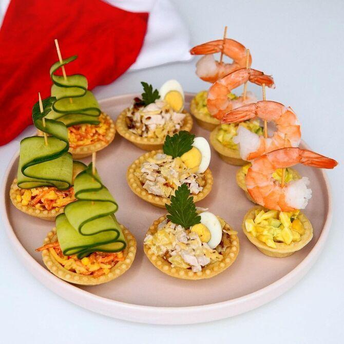 7 оригінальних начинок для тарталеток: зустрінемо Новий рік смачно 1