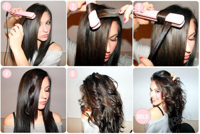 Секрети модних укладок волосся феном, щипцями, плойкою 16