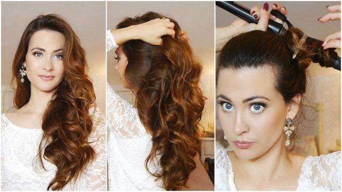 Секреты модных укладок волос феном, утюжком, плойкой 23