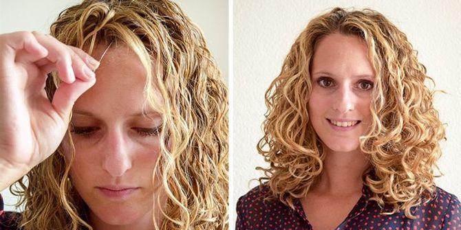 Секреты модных укладок волос феном, утюжком, плойкой 5