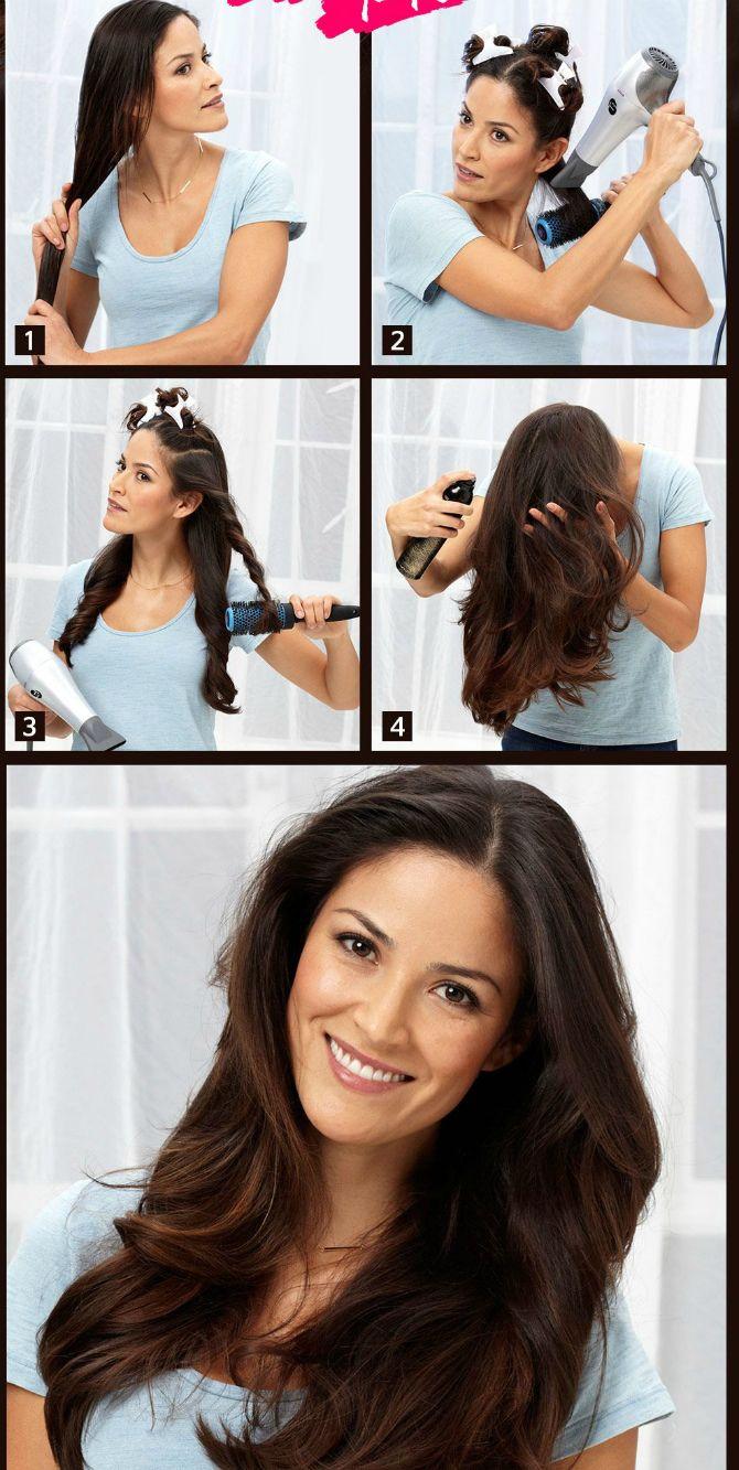 Секреты модных укладок волос феном, утюжком, плойкой 10