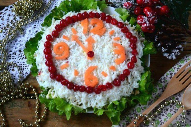 Украшение праздничных блюд: новогодняя символика 2021 на столе 16