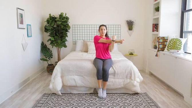 Тренування для ледачих: 11 вправ у ліжку для тонусу тіла 8
