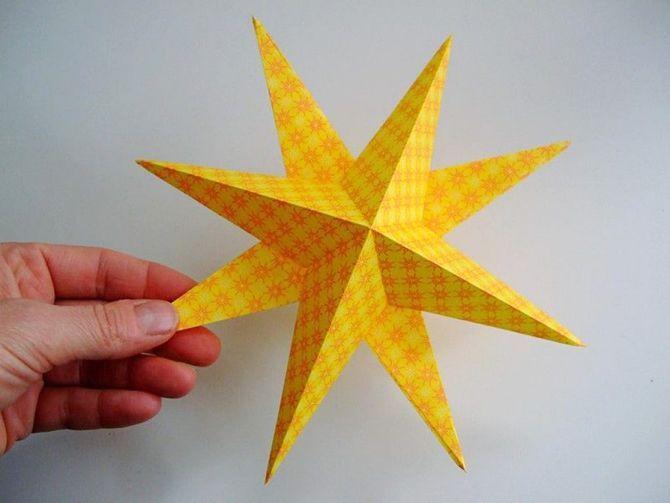 Звезда на елку своими руками: 5 творческих идей 10
