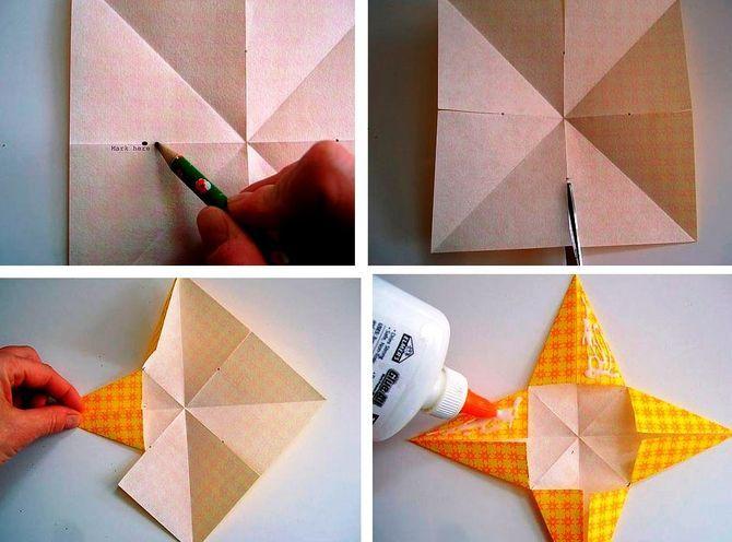 Звезда на елку своими руками: 5 творческих идей 12