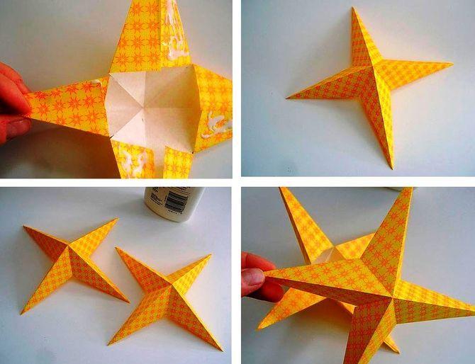 Звезда на елку своими руками: 5 творческих идей 13