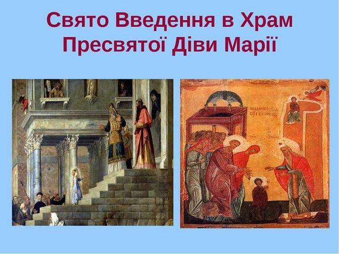Введення в храм Пресвятої Богородиці – красиві привітання 4