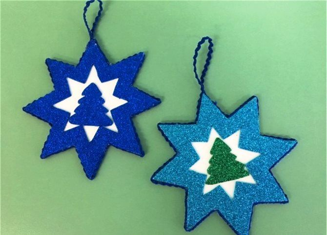 Звезда на елку своими руками: 5 творческих идей 14