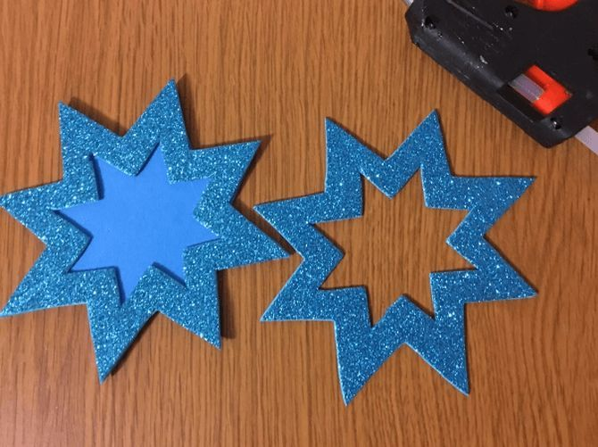 Звезда на елку своими руками: 5 творческих идей 20
