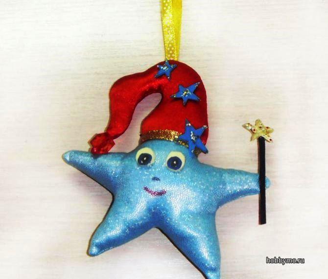 Звезда на елку своими руками: 5 творческих идей 37