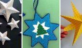 Звезда на елку своими руками: 5 творческих идей