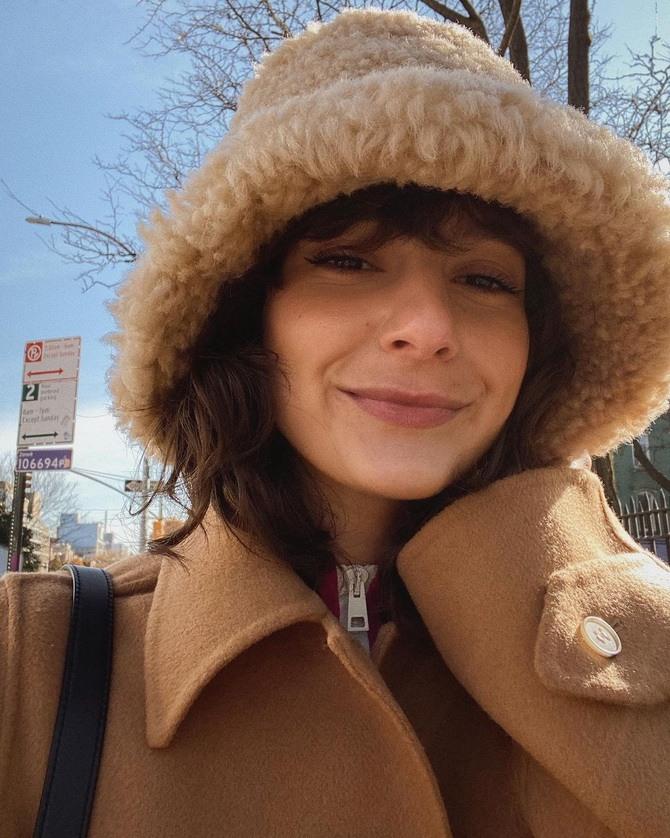 Меховая панама – главная альтернатива зимней шапке 7