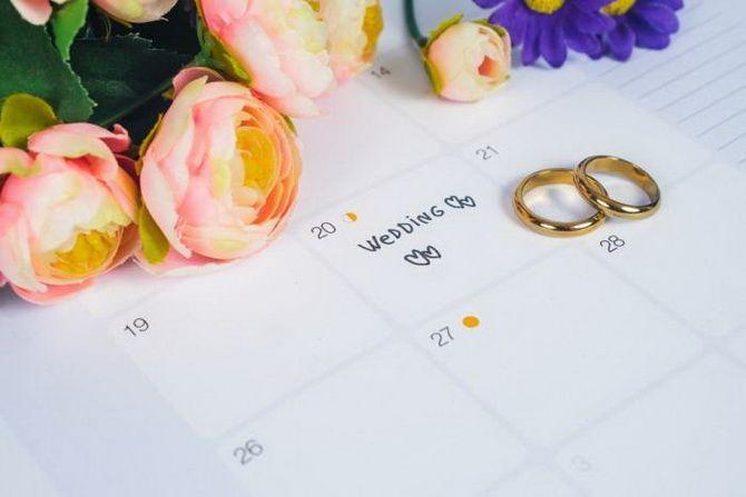 Когда выходить замуж: самые благоприятные дни для свадьбы в 2021 году 1