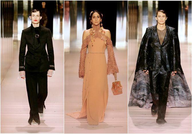 Показ Fendi на Тижні Високої моди в Парижі: Демі Мур, Кара Делевінь і Наомі Кемпбелл вийшли на подіум 5