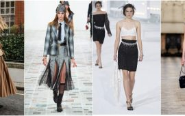 Forgotten elegance: women's skirt suits return into fashion in 2021