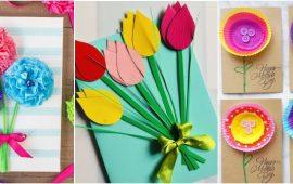 Листівка на 8 березня своїми руками: добірка найкращих майстер-класів та свіжих ідей
