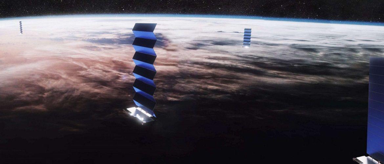 SpaceX впервые запустила в космос спутники Starlink с лазерными перекрестными связями