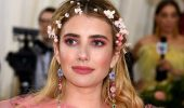 Incredibly touching: Emma Roberts first showed a photo of her newborn son