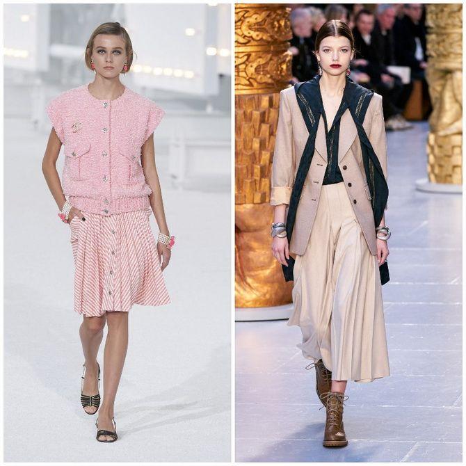 Елегантність, про яку ми забули: жіночі костюми зі спідницею повертаються в 2021 році 10