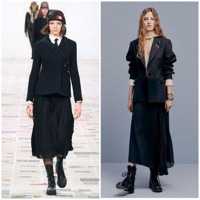 Елегантність, про яку ми забули: жіночі костюми зі спідницею повертаються в 2021 році 11
