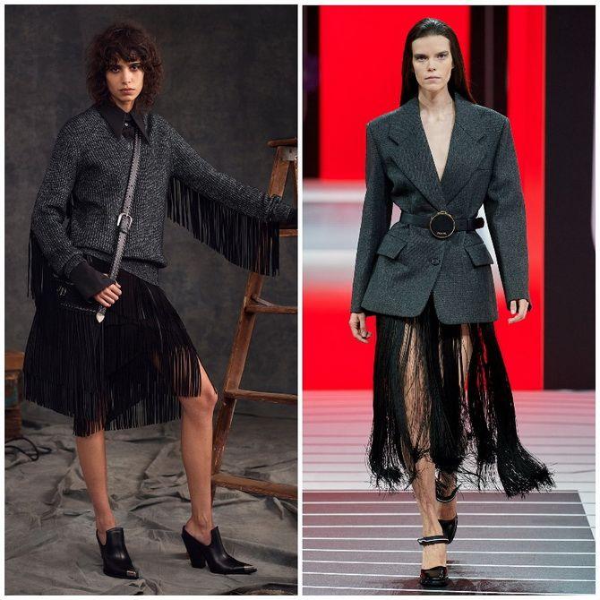 Елегантність, про яку ми забули: жіночі костюми зі спідницею повертаються в 2021 році 12