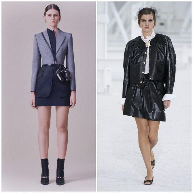 Елегантність, про яку ми забули: жіночі костюми зі спідницею повертаються в 2021 році 16