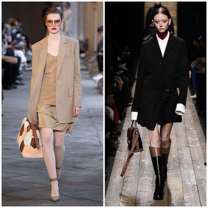 Елегантність, про яку ми забули: жіночі костюми зі спідницею повертаються в 2021 році 17