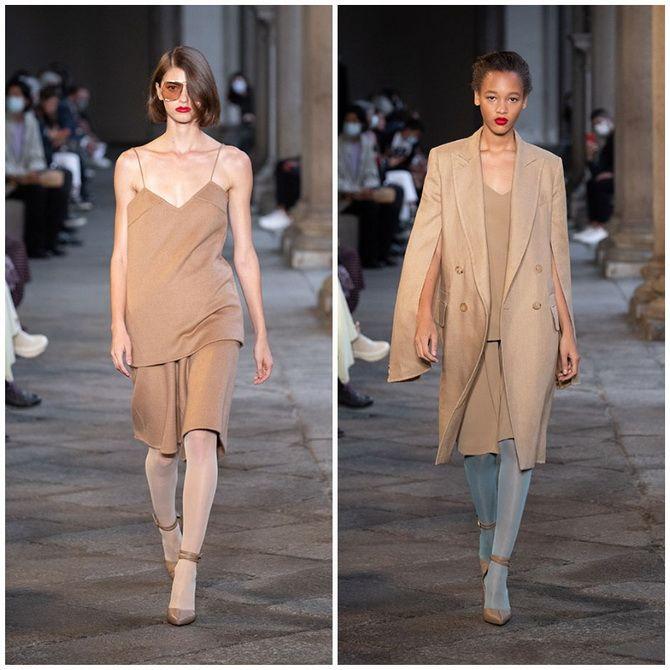 Елегантність, про яку ми забули: жіночі костюми зі спідницею повертаються в 2021 році 19