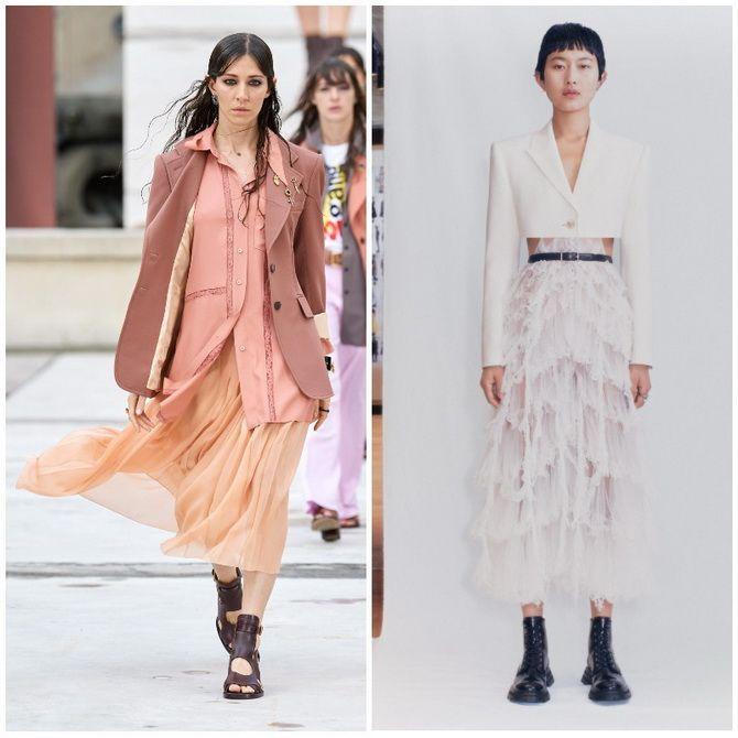 Елегантність, про яку ми забули: жіночі костюми зі спідницею повертаються в 2021 році 20